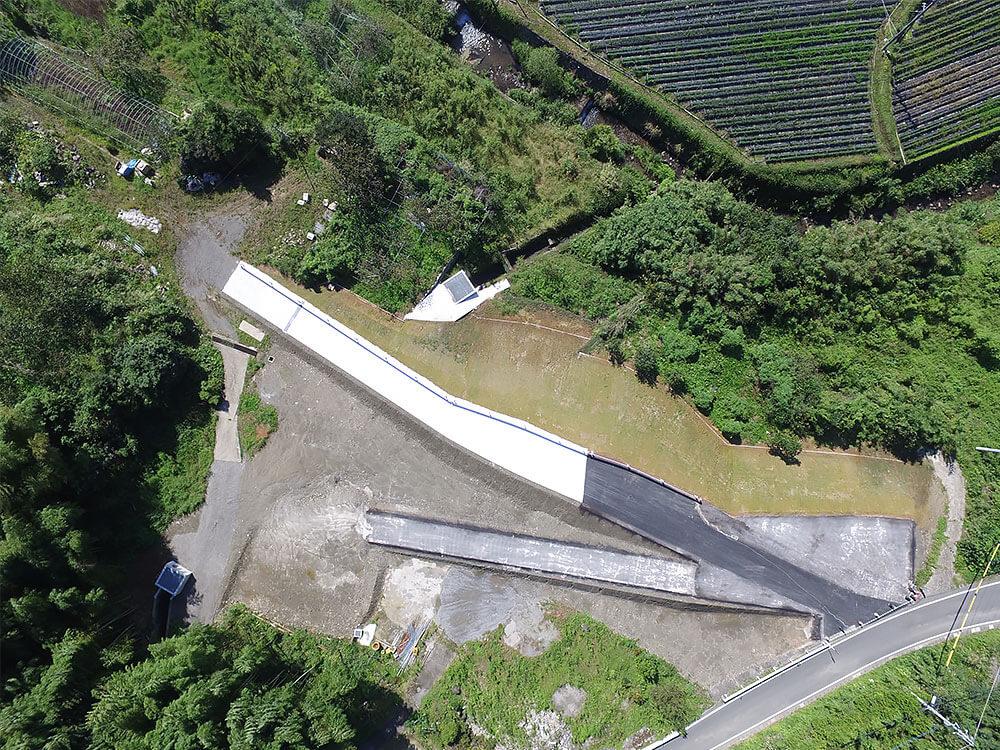 熊本玉名線道路改良工事